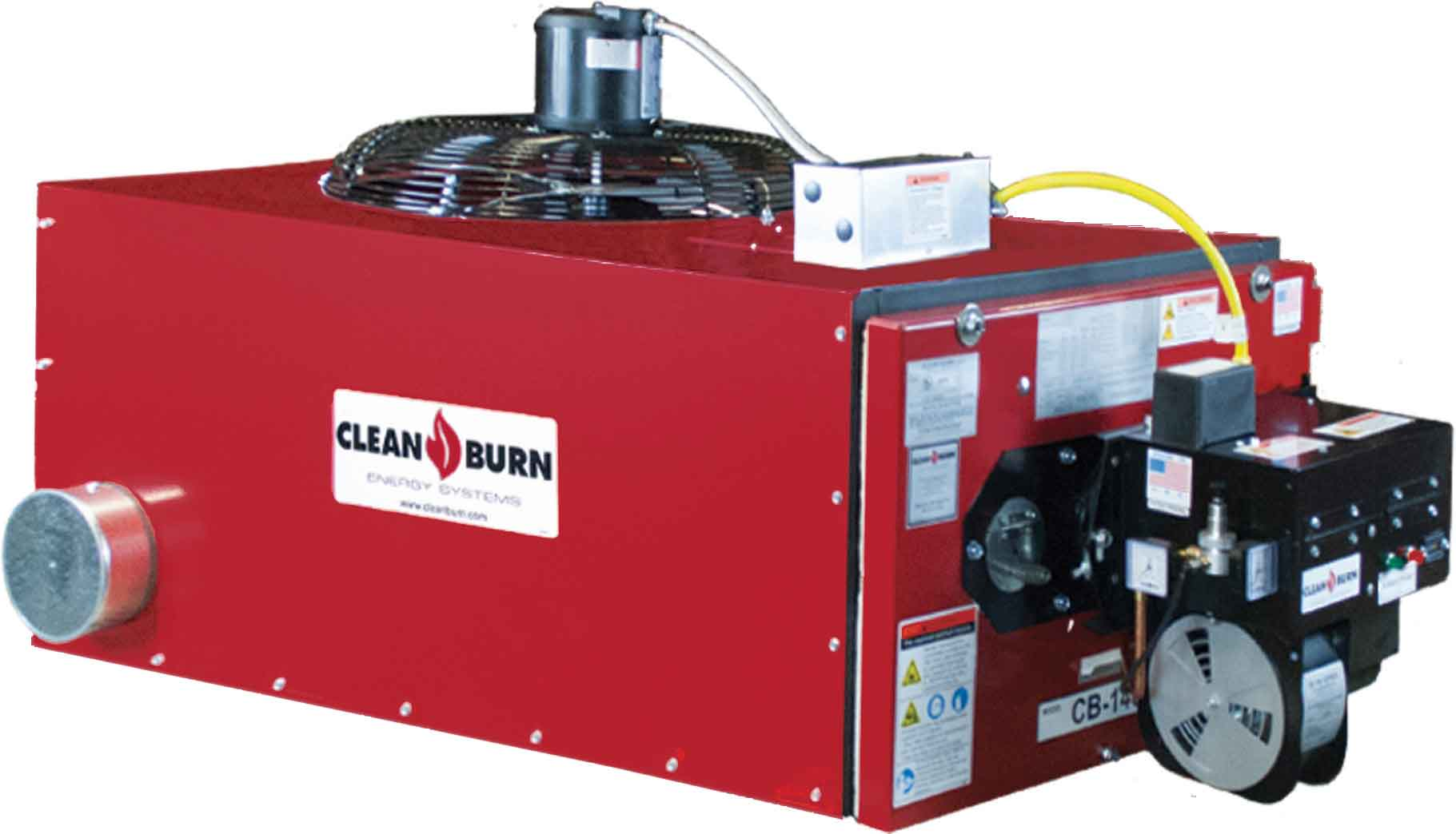 clean burn waste oil furnace products