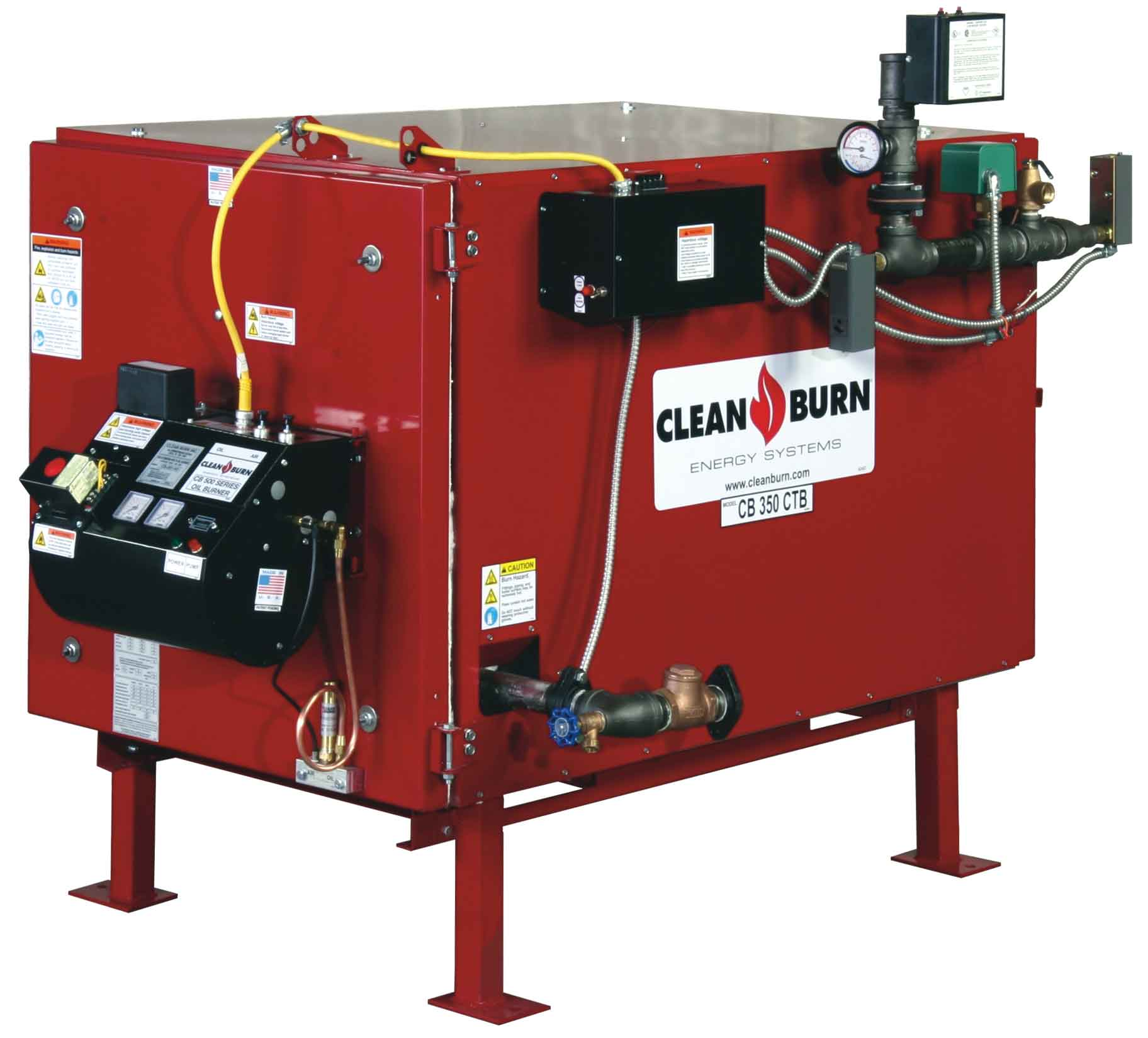 Clean Burn CB-350-CTB Waste Oil Boiler