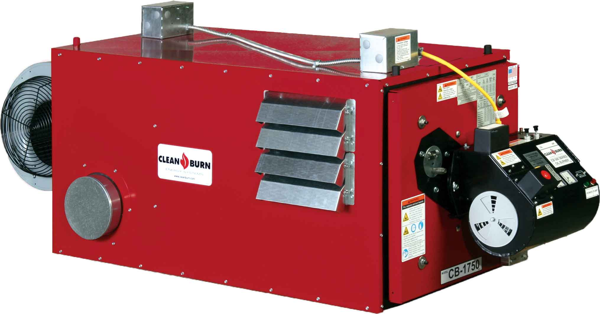 Clean Burn CB-1750 Waste Oil Furnace