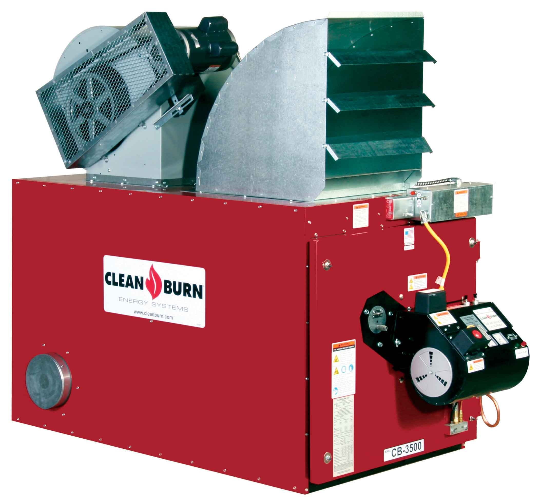 Clean Burn CB-3500 Waste Oil Furnace