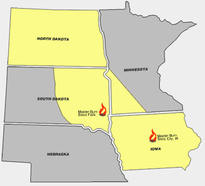 North Dakota Clean Burn dealer, South Dakota Clean Burn dealer, Iowa Clean Burn dealer, Minnesota Clean Burn dealer