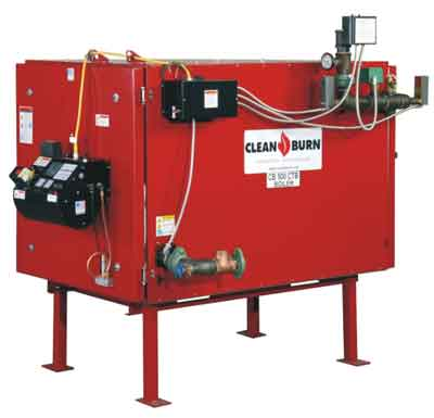 Clean Burn CB-500-CTB Waste Oil Boiler