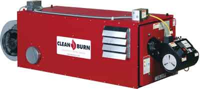 Clean Burn CB-2500 Waste Oil Furnace
