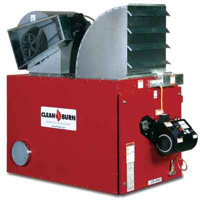Clean Burn CB-5000 Waste Oil Furnace