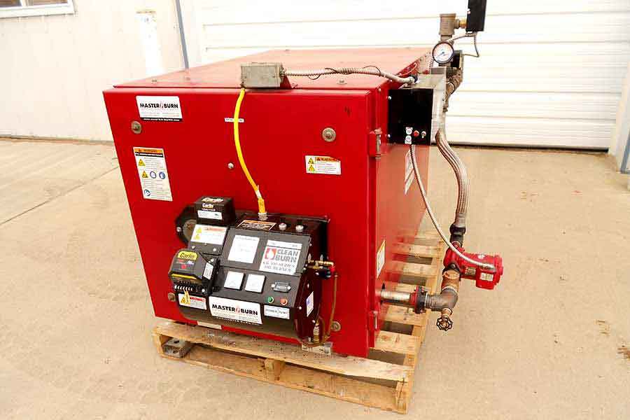 refurbished waste oil burnersstock uf 149 used clean burn waste oil boiler